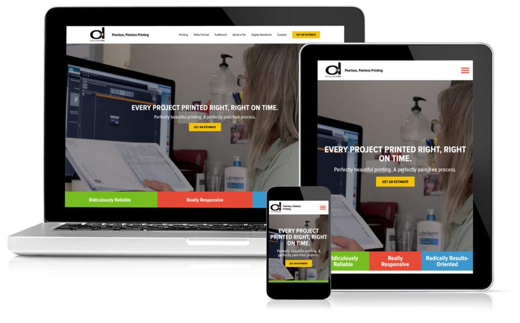 Idealogy Derby City Litho Website