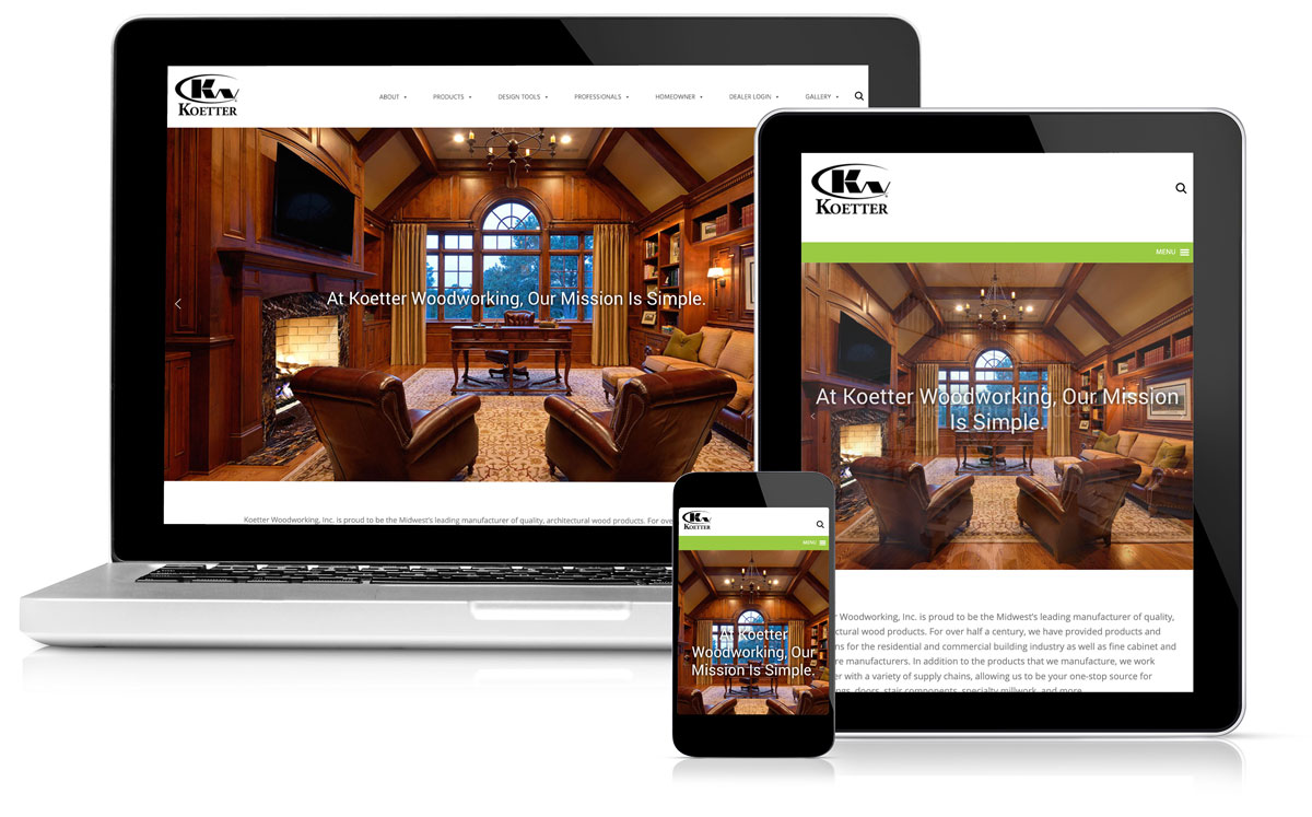 Idealogy Koetter Website