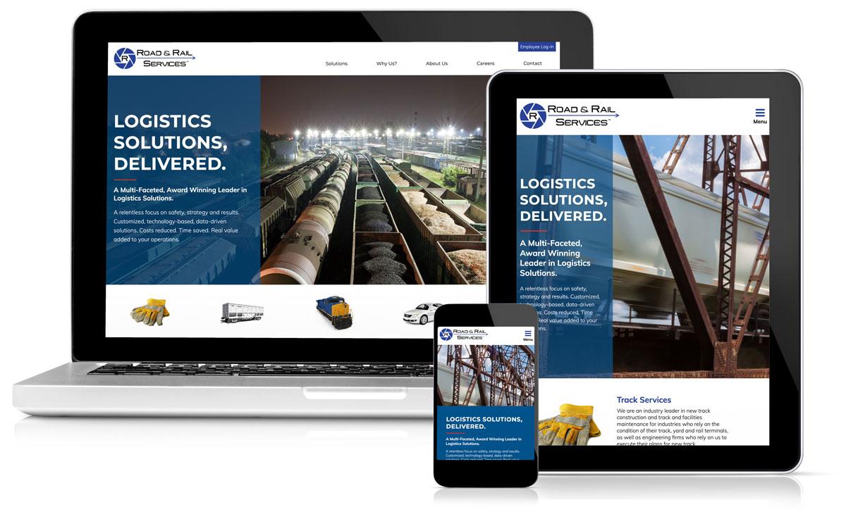 Idealogy Road & Rail Website