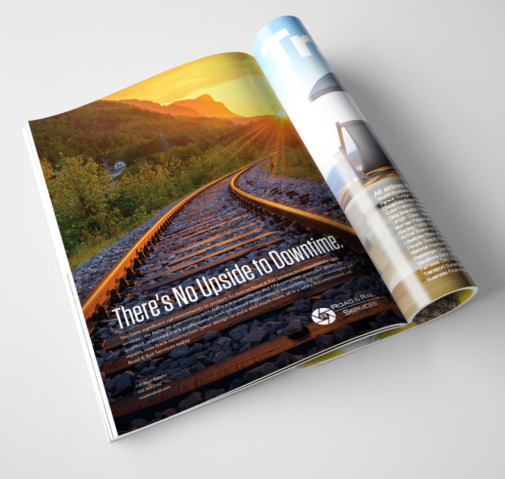 Idealogy Road & Rail Campaign Advertisements