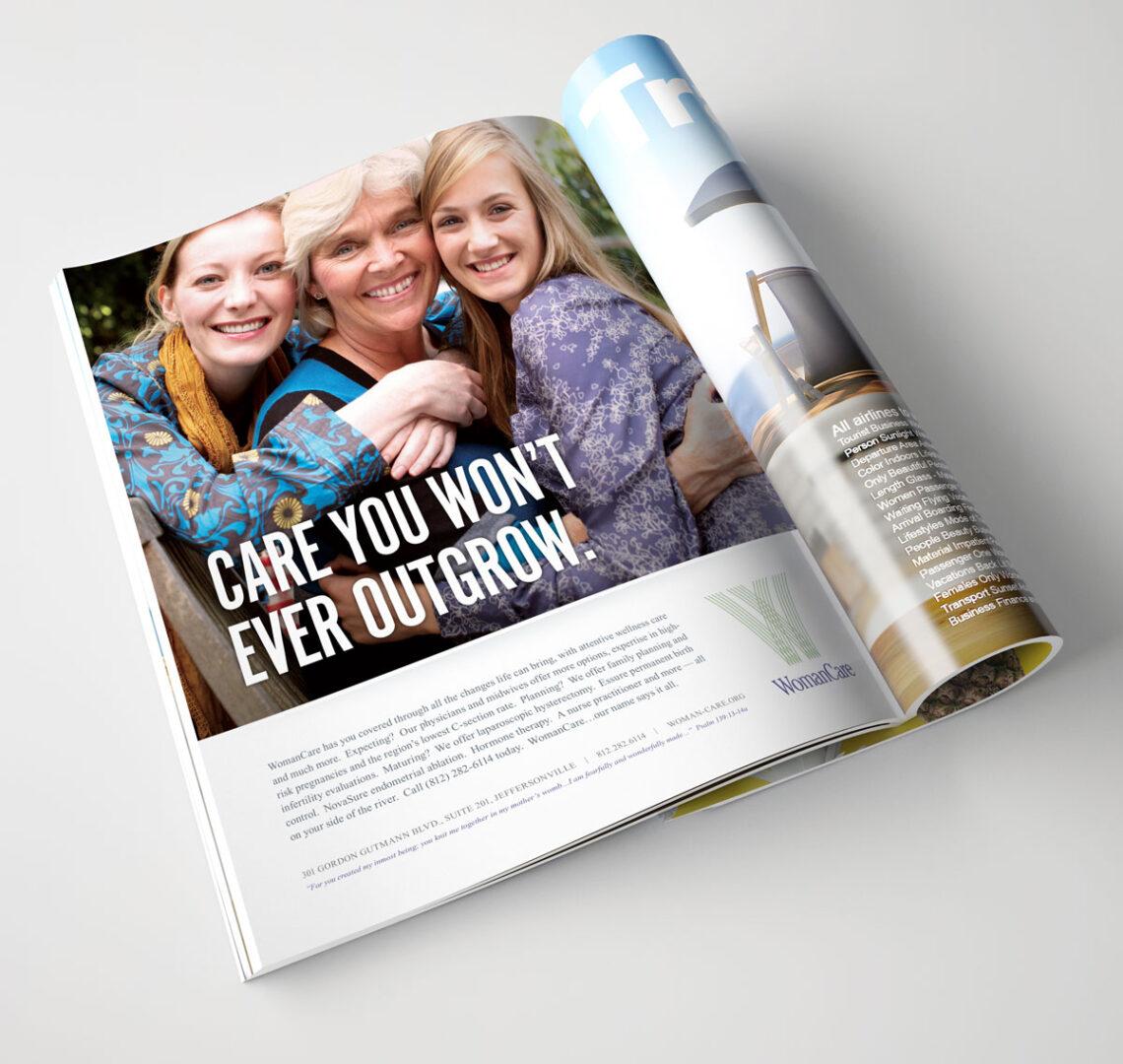 Idealogy WomanCare Campaign Advertisements