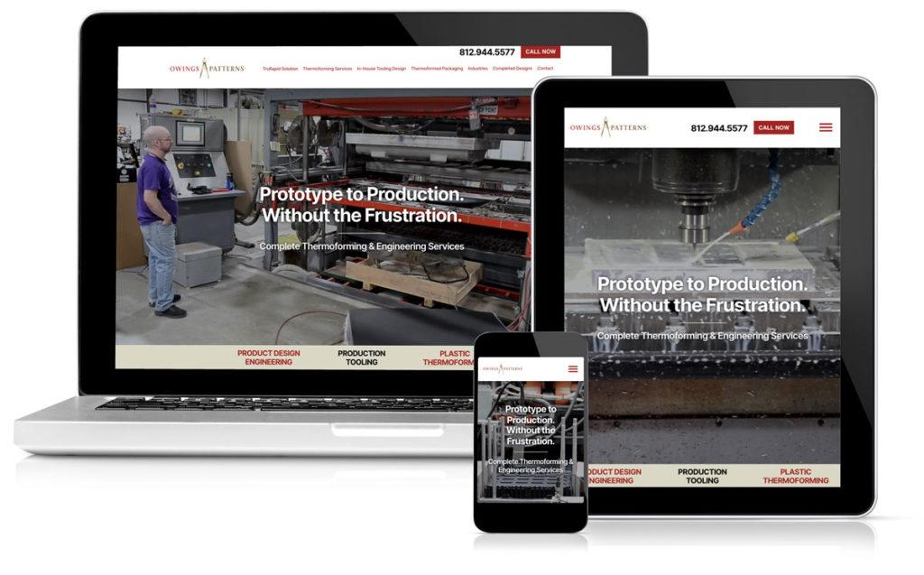 Owings Patterns Website Idealogy Portifolio